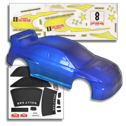 Redcat Racing 10128 1/10 200mm Onroad Car Body Blue 10128 - RedcatRacing.Toys