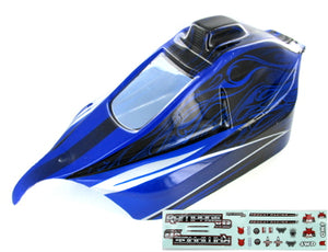 Redcat Racing ATV071-BL Rampage XB Body, Blue ATV071-BL - RedcatRacing.Toys