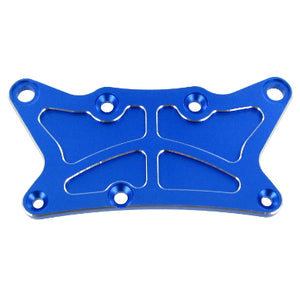 Redcat Racing 050038N Aluminum Front Upper Top Plate, Blue 050038N - RedcatRacing.Toys