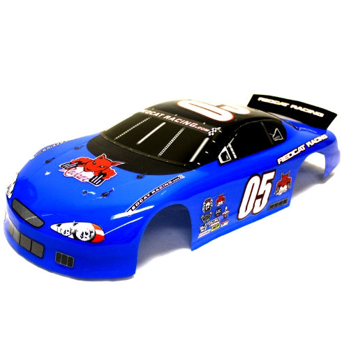 Redcat Racing 1/10 On Road Stocker Body, Blue  RC05-N | Redcat Racing