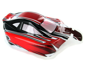 Redcat Racing R6601 Buggy Body, Red, Black and Silver - RedcatRacing.Toys