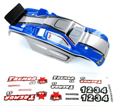 Redcat Racing 17001 Tremor SG Buggy Body, Blue - RedcatRacing.Toys