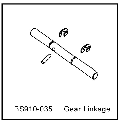 Redcat Racing BS910-035 Gear Linkage ~ - RedcatRacing.Toys