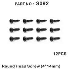 Redcat Racing S092 Round Head Screw 4*14mm ~ - RedcatRacing.Toys