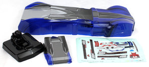 Redcat Racing  Blackout XBE Blue Body BS218-009B - RedcatRacing.Toys
