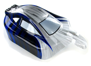 Redcat Racing R1072 Buggy Body, Blue and Silver - RedcatRacing.Toys