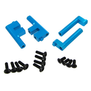 Redcat Racing 122203 Aluminum Radio Tray Posts, Blue (4pcs) ~ | RedcatRacing.Toys