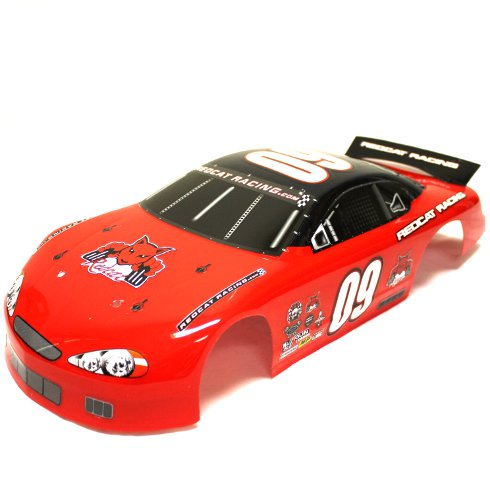 Redcat Racing 1/10 On Road Stocker Body, Red RC09-N | Redcat Racing
