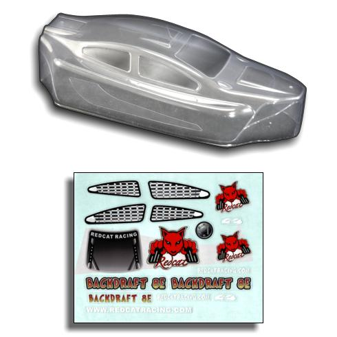 Redcat Racing 1/8 Buggy Body, Clear  BS803-003C | RedcatRacing.Toys