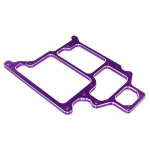 Redcat Racing 108865 Aluminum Radio Tray, Purple (optional style) ~ | RedcatRacing.Toys