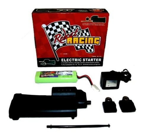Redcat Racing Electric Starter Kit Starter Gun, 2 Back Plates, Battery, Charger & Wand 70111E-KIT - RedcatRacing.Toys