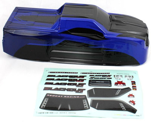 Redcat Racing BS214-003T-BLUE Truck Body Blue BS214-003T-BLUE | Redcat Racing