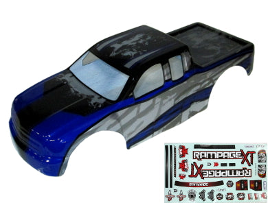 Redcat Racing ATV070-BL 1/5 Truck Body, Blue RAMPAGE MT,RAMPAGEXT | Redcat Racing
