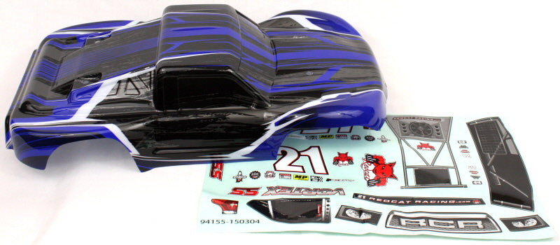 Redcat Racing ATV155-BL 1/10 Short Course Truck Body New Black and Blue ~ | RedcatRacing.Toys
