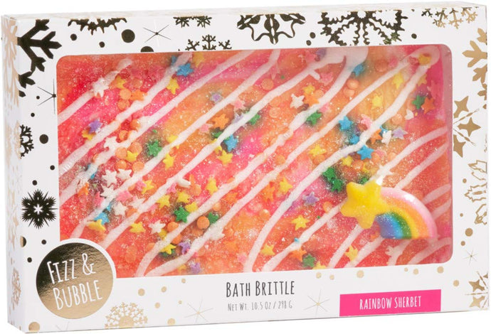 Fizz & Bubble Rainbow Sherbet Bath Brittle