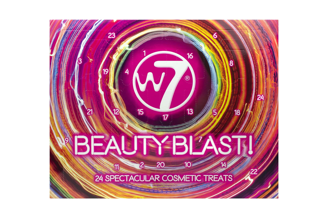 Two W7 Beauty Blast Cosmetic Advent Calendars