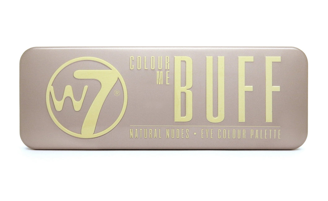 W7 Colour Me Buff Eyeshadow Palette - Tin