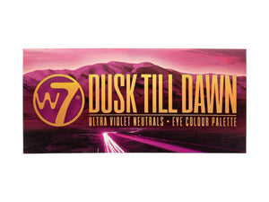 W7 Dusk Till Dawn Eyeshadow Palette Tin