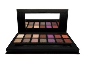 W7 Dusk Till Dawn Eyeshadow Palette Tin Open