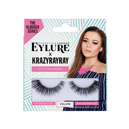 Eylure X Krazyrayray - No Filter Needed