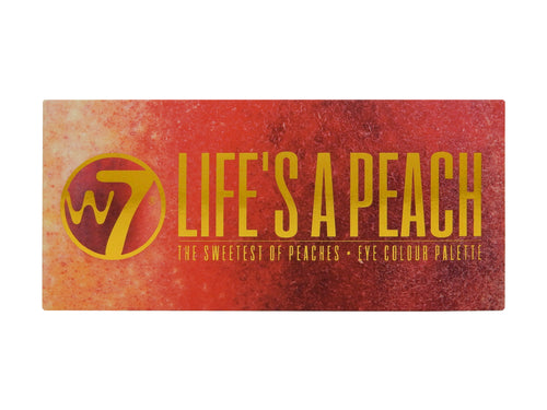 W7 Life's A Peach Eyeshadow Palette Tin