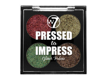 Load image into Gallery viewer, Pressed to Impress Glitter Eyeshadow Palette - In Vogue