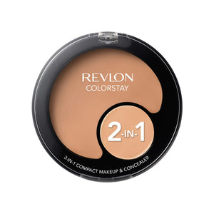 Revlon ColorStay 2-in-1 Compact Makeup and Concealer - Medium Beige