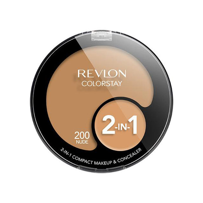 Revlon ColorStay 2-in-1 Compact Makeup and Concealer - Nude