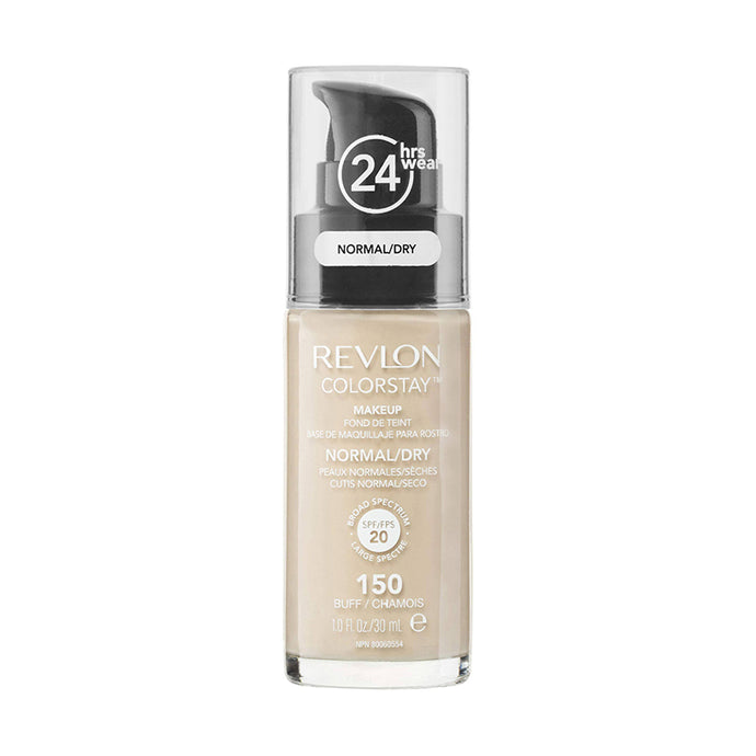 Revlon ColorStay 24H Normal/Dry Skin Pump Foundation 30ml - Buff