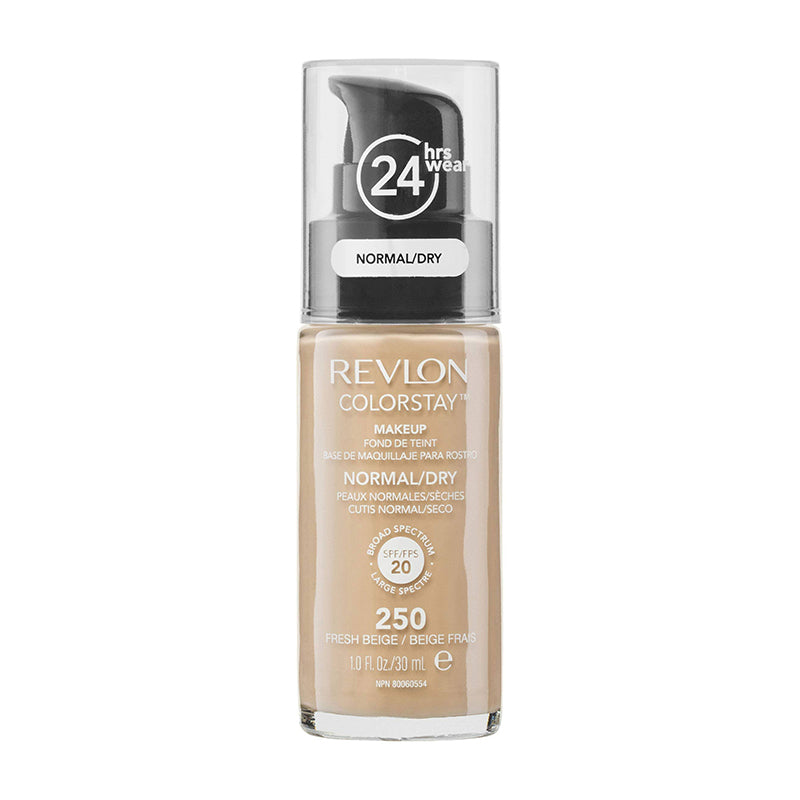 Revlon ColorStay 24H Normal/Dry Skin Pump Foundation 30ml - Fresh Beige