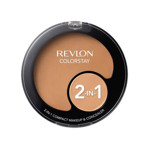 Revlon ColorStay 2-in-1 Compact Makeup and Concealer - Natural Tan
