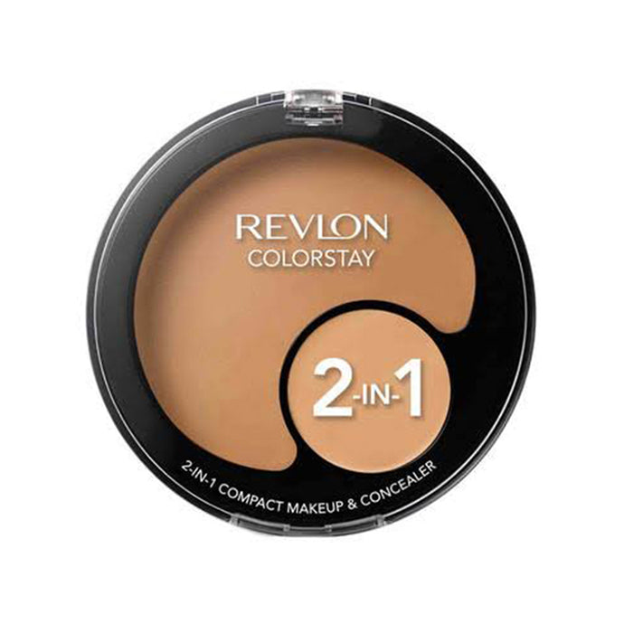 Revlon ColorStay 2-in-1 Compact Makeup and Concealer - Sand Beige