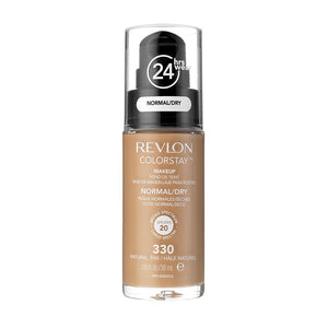 Revlon ColorStay 24H Normal/Dry Skin Pump Foundation 30ml - Natural Tan