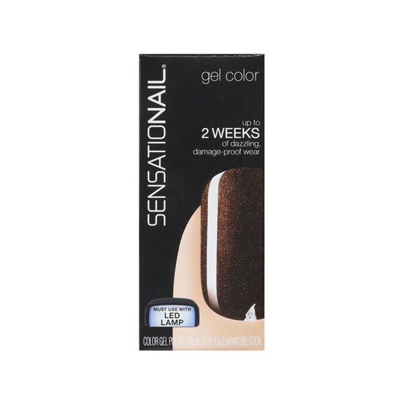 Sensationail Gel Polish - Espresso Bean