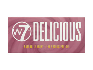 W7 Delicious Eyeshadow Palette Front