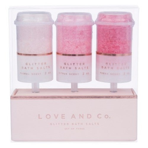 West Emory Love and Co. Glitter Bath Salts