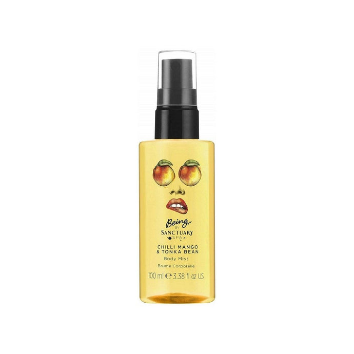 Being By Sanctuary Spa Chilli Mango & Tonka Bean Body Mist 100ml Spray