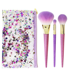 Real Techniques Brush Crush Brush Set - Shimmer + Shine