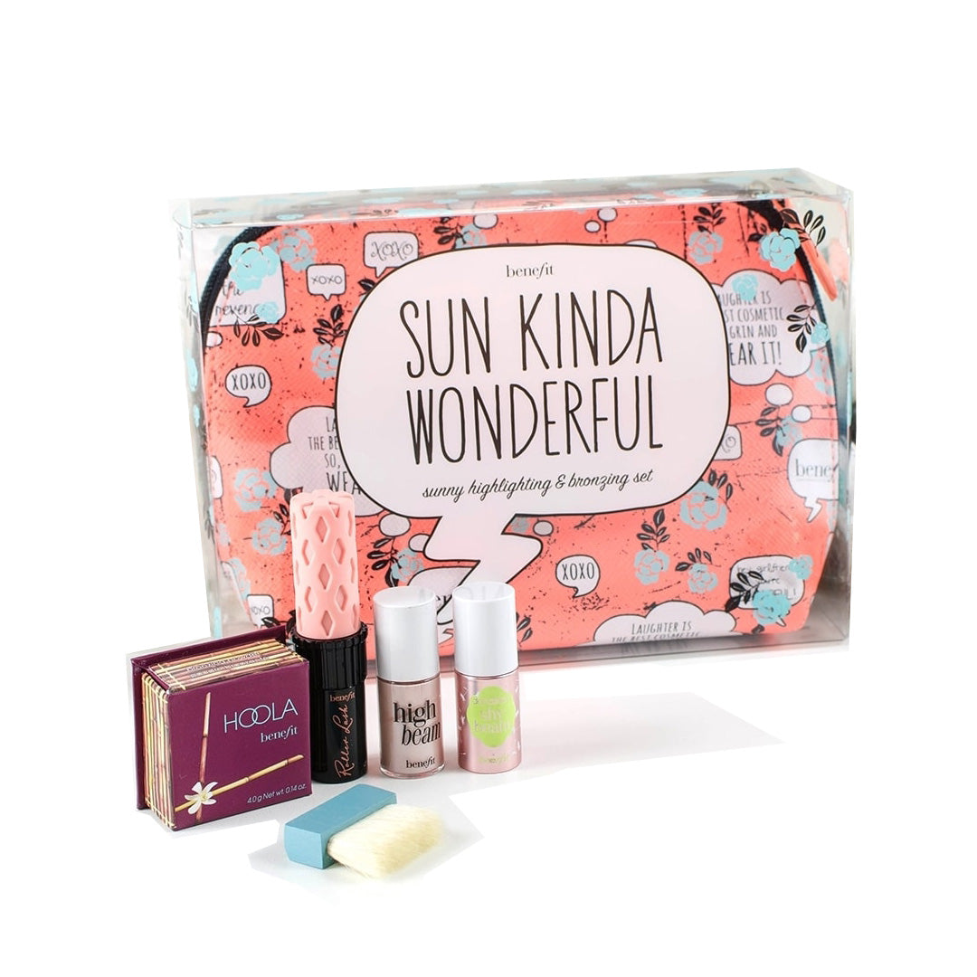 Benefit Sun Kinda Wonderful Highlighting and Bronzing Gift Set