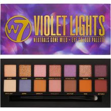 Load image into Gallery viewer, W7 Violet Lights Eyeshadow Palette