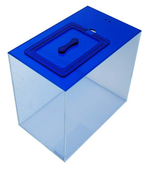 ATO Reservoir - Trigger Systems Sapphire Blue ATO Reservoir 10 Gallon