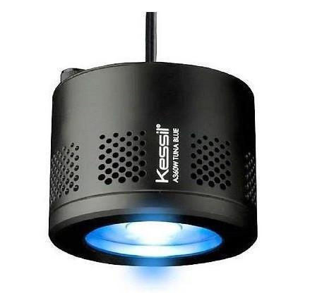 LED Lighting - Kessil A360W-E Tuna Blue LED Light - Wide Angle - W/Mounting Options