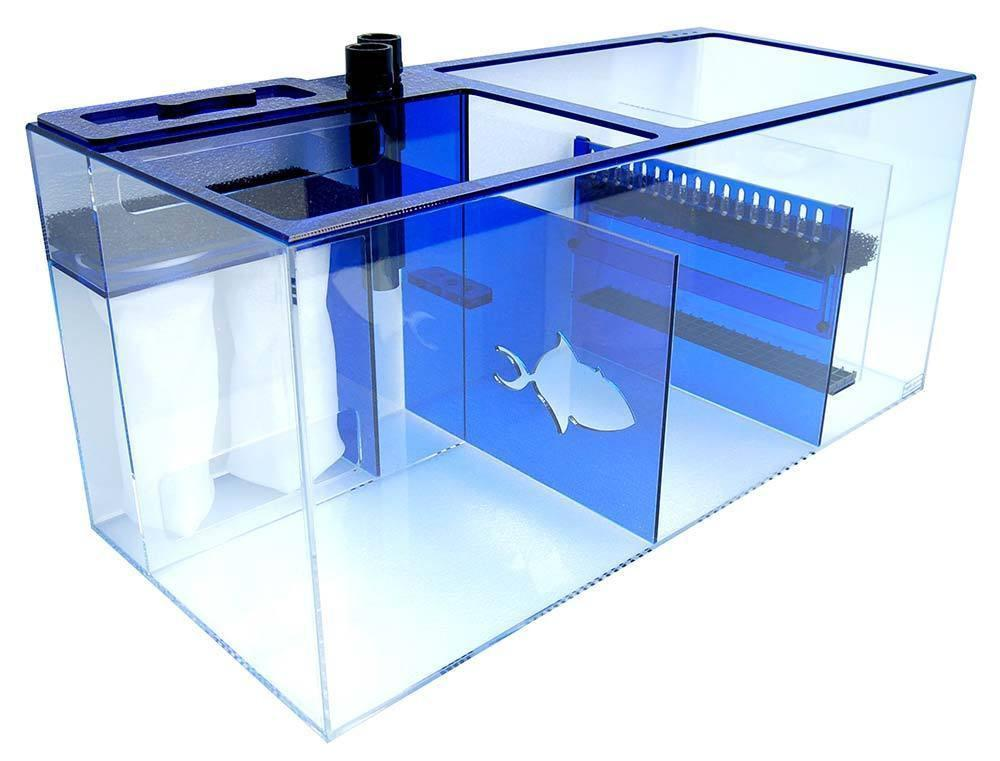 "Refugiums And Sumps - Trigger Systems Sapphire Blue 34"" - BLEMISH SALE!!!"