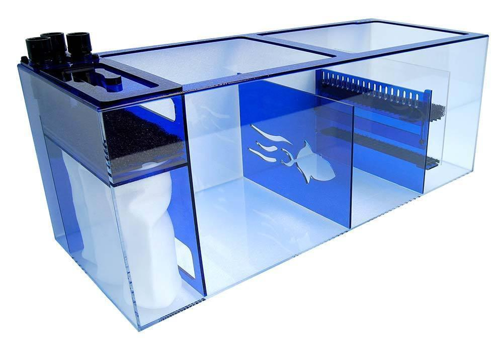 "Refugiums And Sumps - Trigger Systems Sapphire Blue 39"" - BLEMISH SALE!!!"