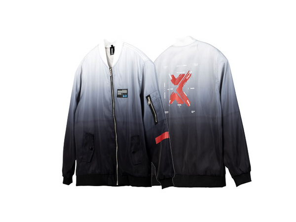 AVENTON KILLWINNER CARPE DIEM COLLAGE UNISEX JACKET - boopdo