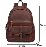 MANTIME HYPEST NEW CENTURY HANDMADE CASUAL LEATHER BACKPACK