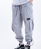 THE PLEXI MULTI POCKET ADJUSTABLE CASUAL PANTS - boopdo