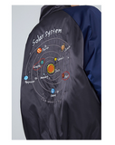 TOYOUTH BOMBER JACKET WITH BACK SOLAR SYSTEM EMBROIDERED 8841402005