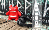 ZOMBIES DEVIL CAT STEREO MUSIC EARPLUG HEADPHONES - boopdo