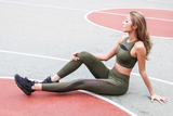 LANIKAR TRAINING MESH PANEL LEGGINGS